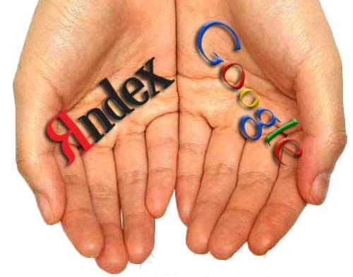 Контекстная реклама Yandex, Google