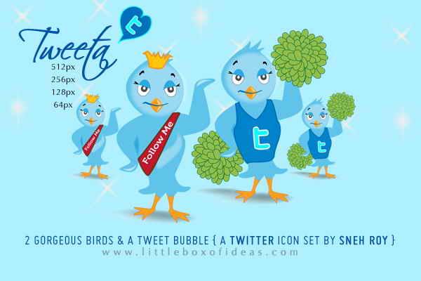 Твит для гламурных блогов