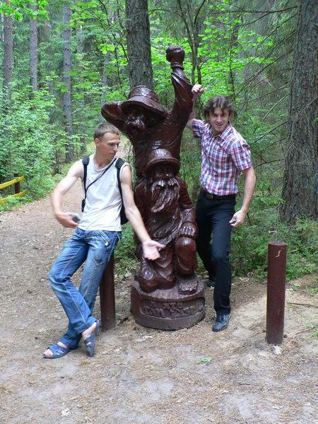 Деревянные идолы 1