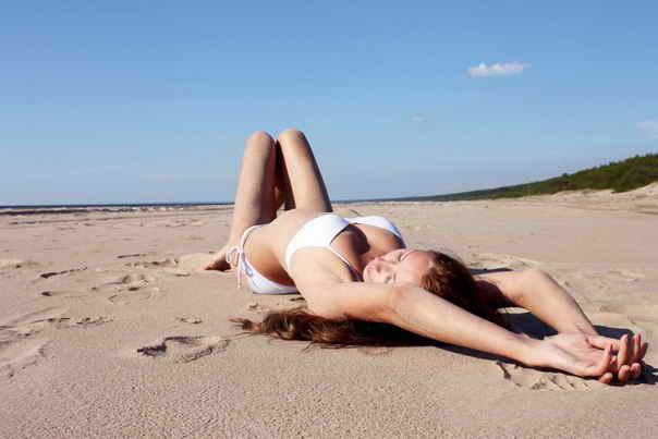 Фото девушек из Вконтакте на море 01