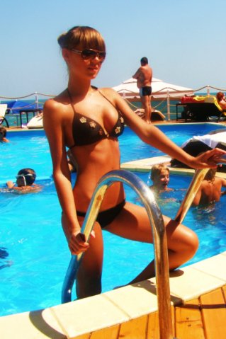 Фото девушек из Вконтакте на море 07