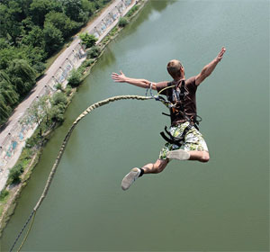 Ropejumping прыжки с веревкой