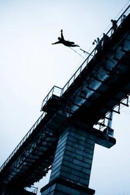 Ropejumping - прыжки с моста