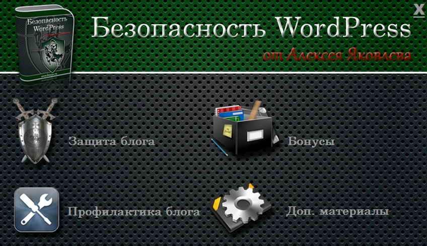 Видеоуроки по защите WordPress