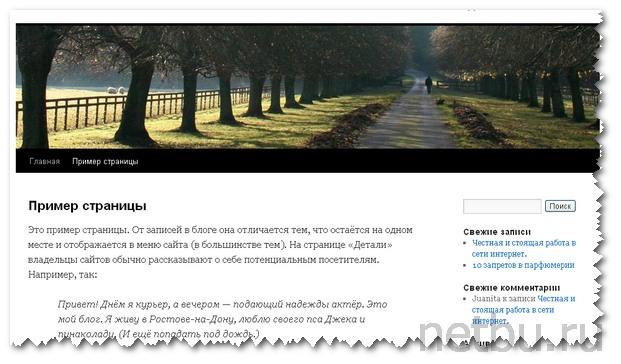 Сайт на CMS WordPress готов