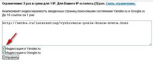 Как проверить индексацию сайта в Яндексе и в Google?