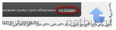 Подтвердить авторство через Google Plus на сайте