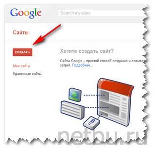 Создать сайт в Google и заработать деньги в интернете с нуля