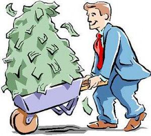 Горы денег от интернет бизнеса