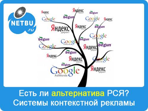 Системы контекстной рекламы: какая партнерка для контекста лучшая